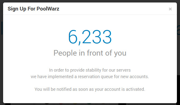 poolwarz-waiting-queue
