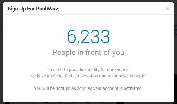 poolwarz-waiting-queue