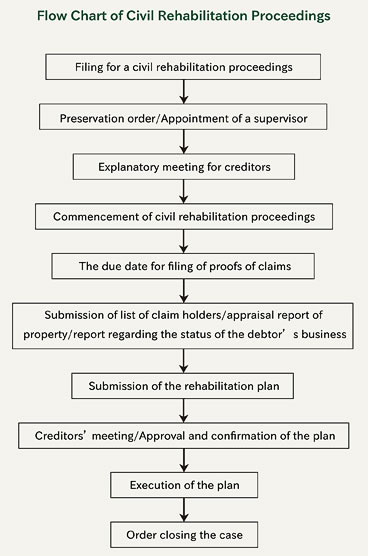 civil-rehabilitation-proceedings-flow-chart
