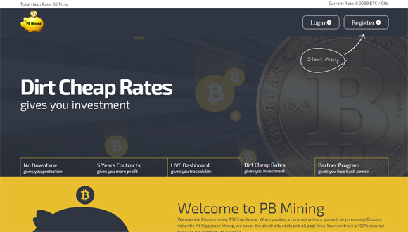 pbmining-current-hashrate-and-price