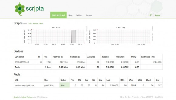 scripta-gridseed-support-web-interface