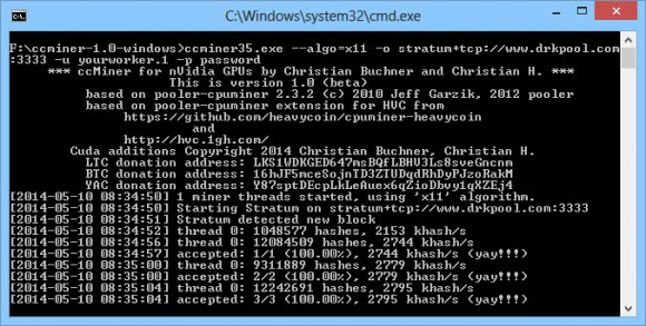 ccminer-1-0-x11-support