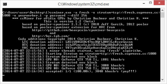 ccminer-fresh-windows