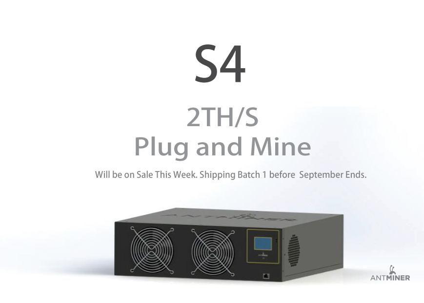 Asic antminer s4 купить видеокарту с интерфейсом pci-e 1.1