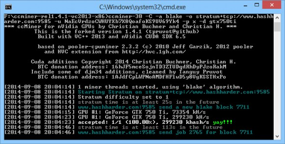 ccminer-blake-256-support