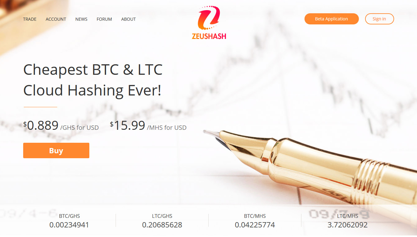 zeushash cloud mining