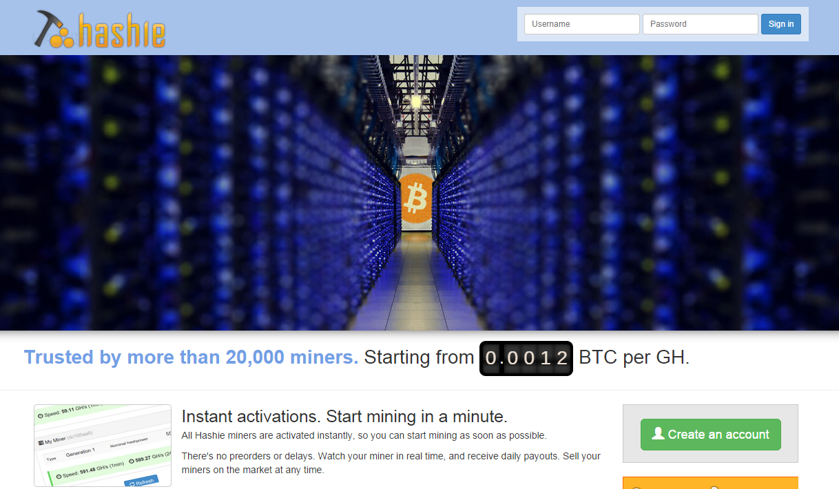 bitcoin cloud mining free