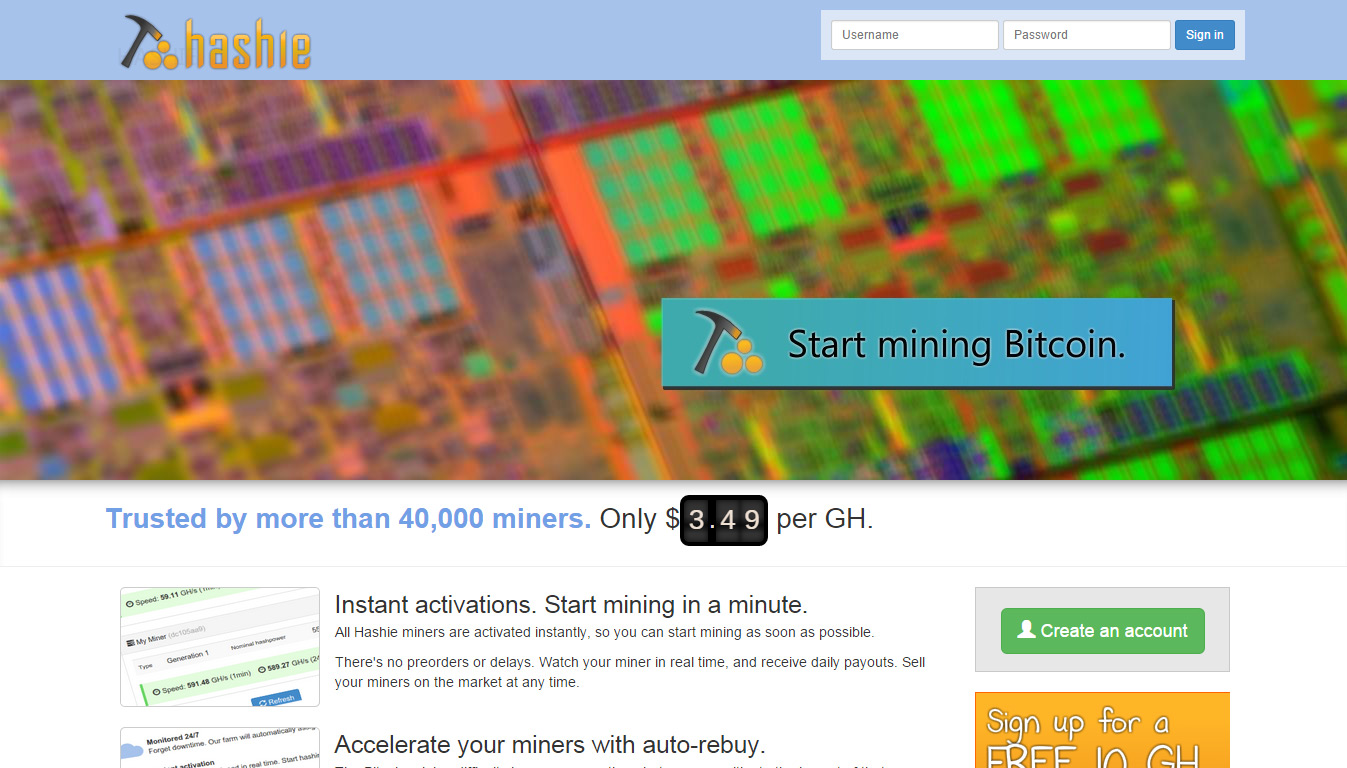cloud mining how to