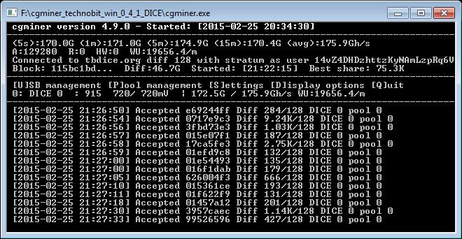 Gpu bitcoin miner c130