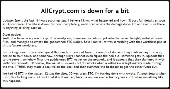 allcrypt-exchange-hacked