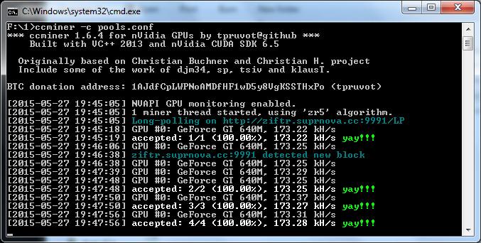 mining ethereum nvidia