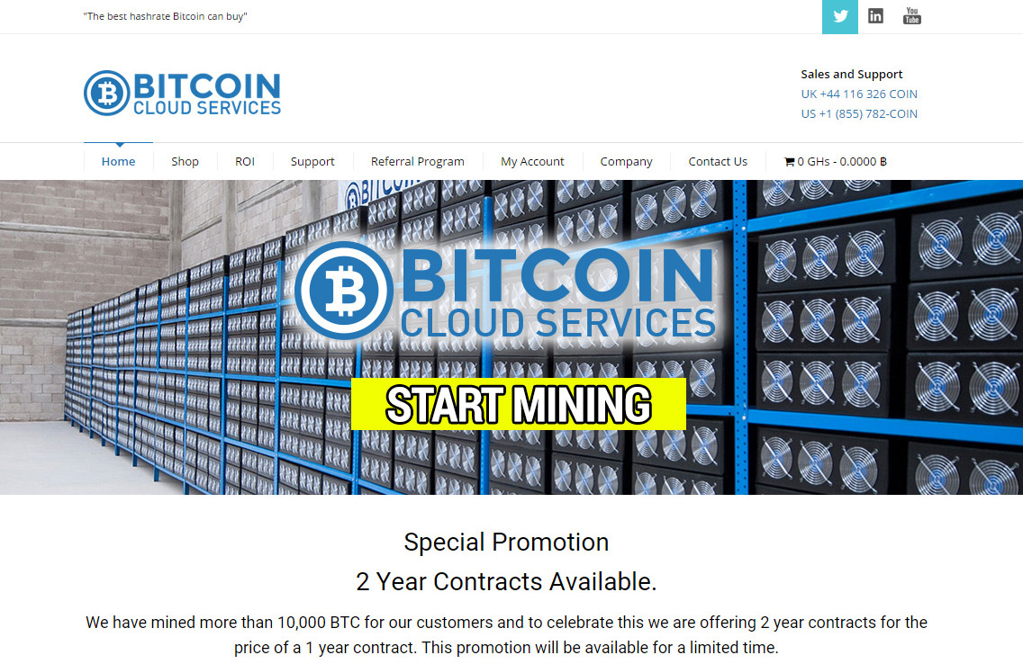 bitcoin mining in cloud