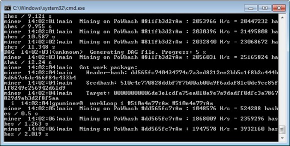 mining ethereum software