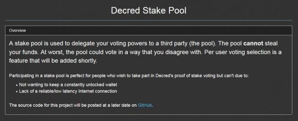 decred-stake-pool