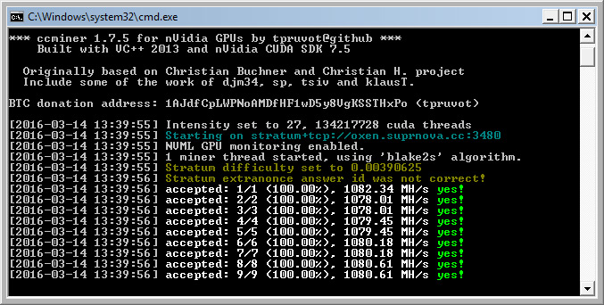 cpu mining in the cloud