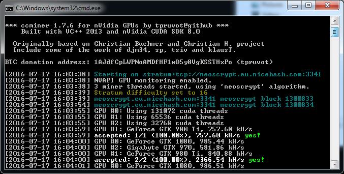 Bitcoin mining windows vs linux