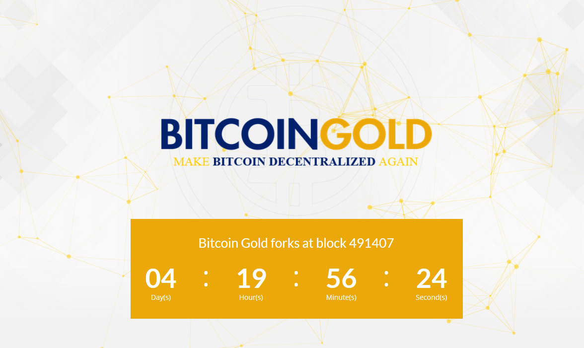 The bitcoin gold btg user activated soft fork happening in less earlier this month we have told you about the upcoming bitcoin fork called bitcoin gold btg but now just a couple of days before it actually happening ccuart Choice Image