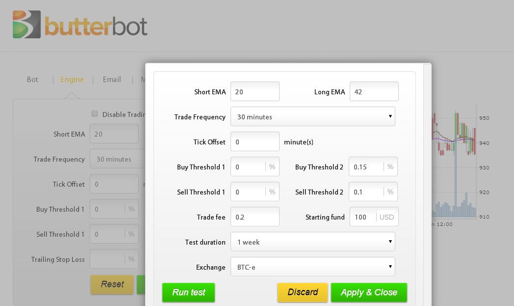 Buy bitcoin trading bot