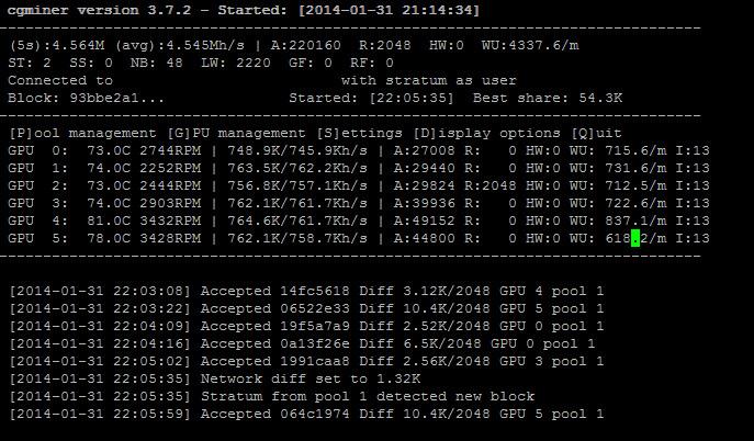 linux bitcoin miner