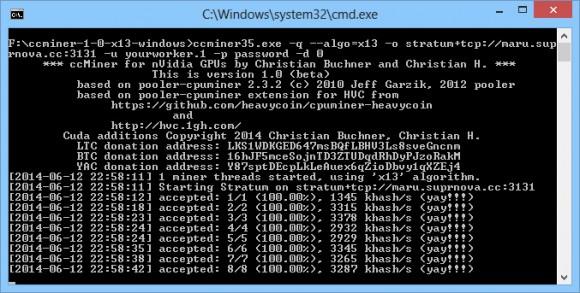 ccminer-1-0-x13-windows