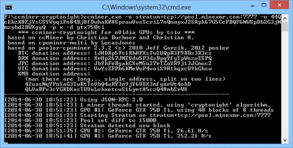 ccminer-cryptonight-windows