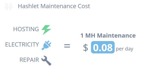 hashlet-maintenance-cost