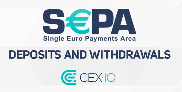 CEXIO Now Supports SEPA For Deposits And Withdraws