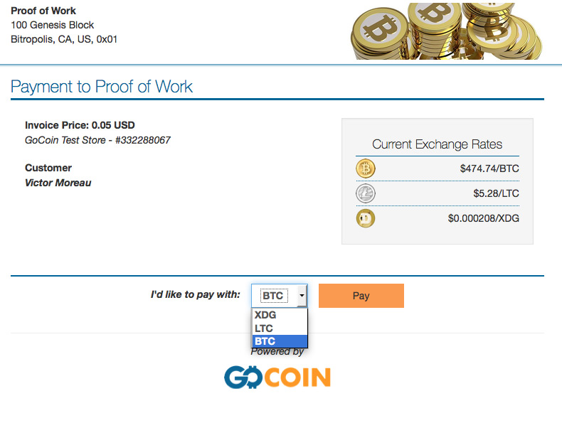 shopify cryptocurrency platform