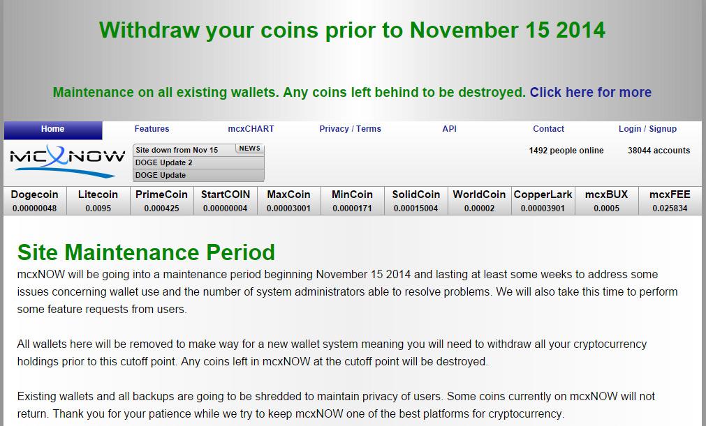 mcxnow bitcoins