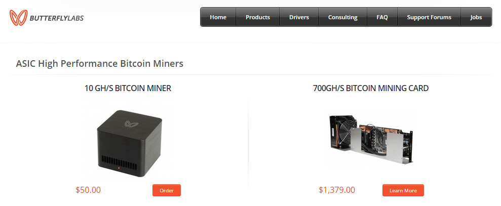 5 GHs Bitcoin Miner from Butterfly Labs can mine Litecoin