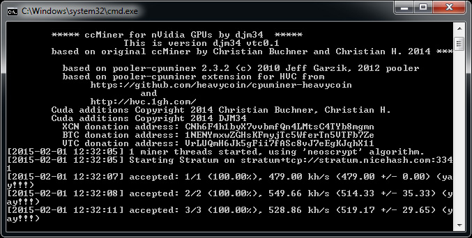 ethminer how to connect with multiple gpus linux