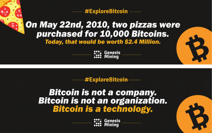 Bitcoin Quote Gorgeous Bitcoin Awareness Campaign Crypto Mining Blog