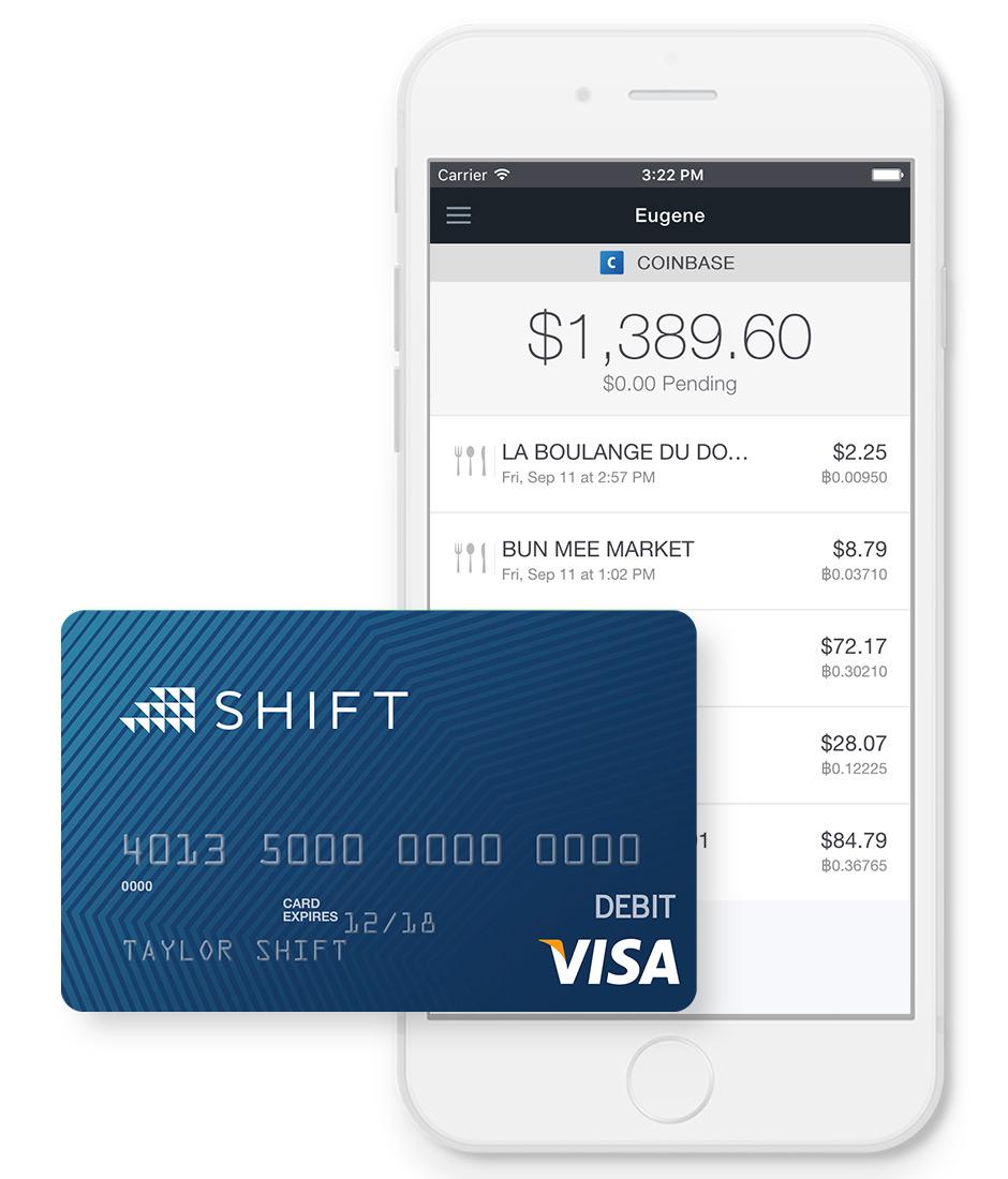 shift card bitcoin)
