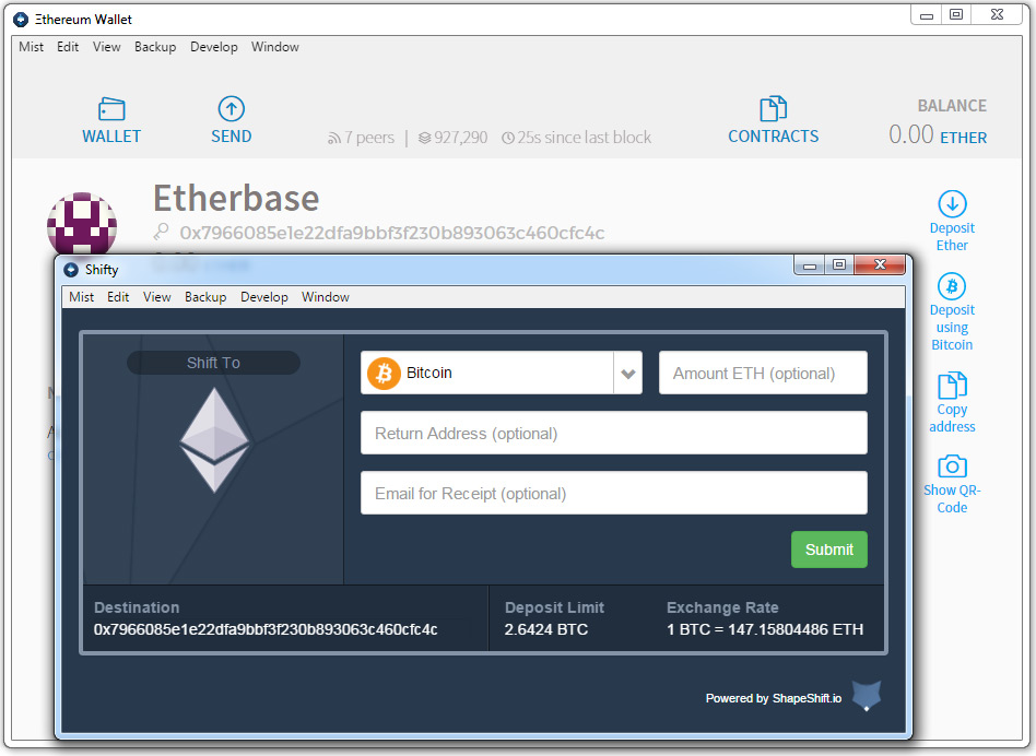 Etherum Wallet