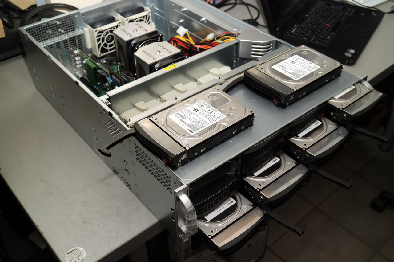 Which cryptocurrency use hard disk to mine