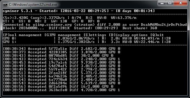 sgminer 5 3 1 windows - Crypto Mining Blog