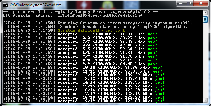 Esp cpu miner crypto mining blog new cpuminer multi fork with hmq1725 algorithm support ccuart Image collections