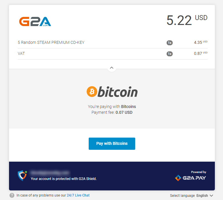 G2A paying with bitcoin - Crypto Mining Blog