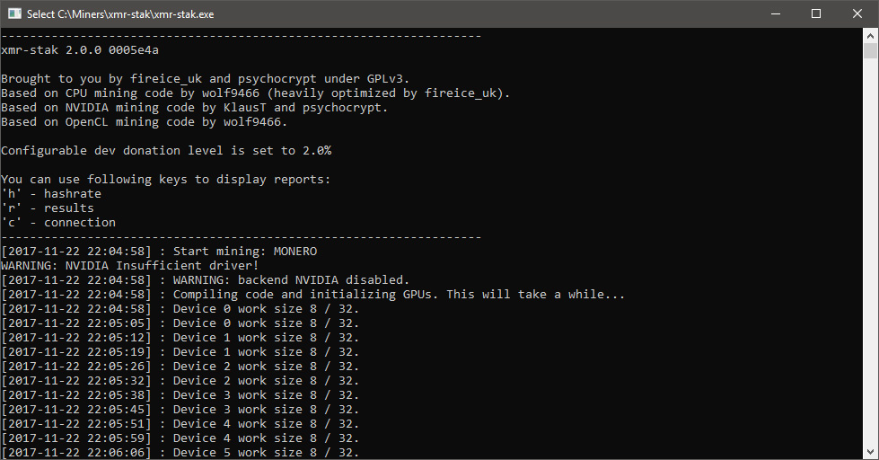 New XMR-stak All-in-one Cryptonight Miner for AMD, Nvidia and CPU