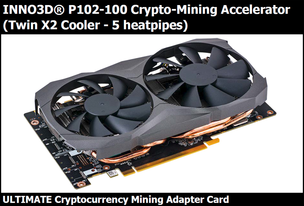 Nvidia P102-100 Crypto Mining Cards Are Coming to the Market