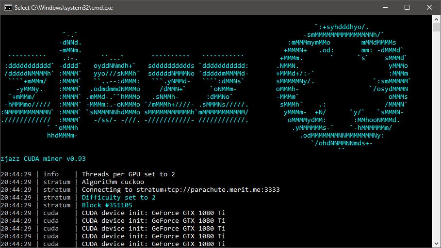 New Merit (MRT) Nvidia GPU Miner – zjazz CUDA Miner - Crypto Mining Blog
