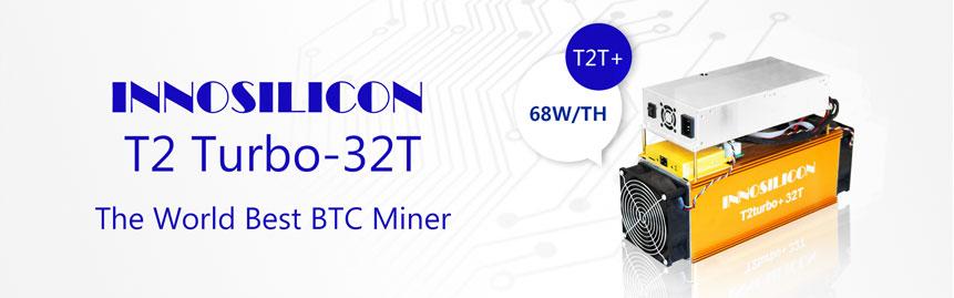 Innosilicon T2Turbo+32T Bitcoin ASIC