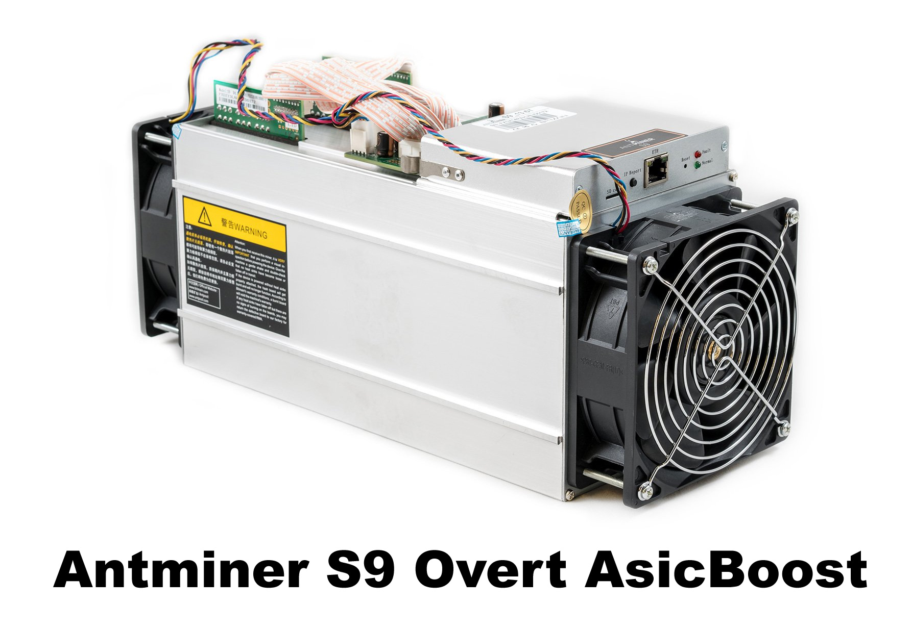 "Bitmain has Released a Firmware to Activate ""Overt AsicBoost"" for"