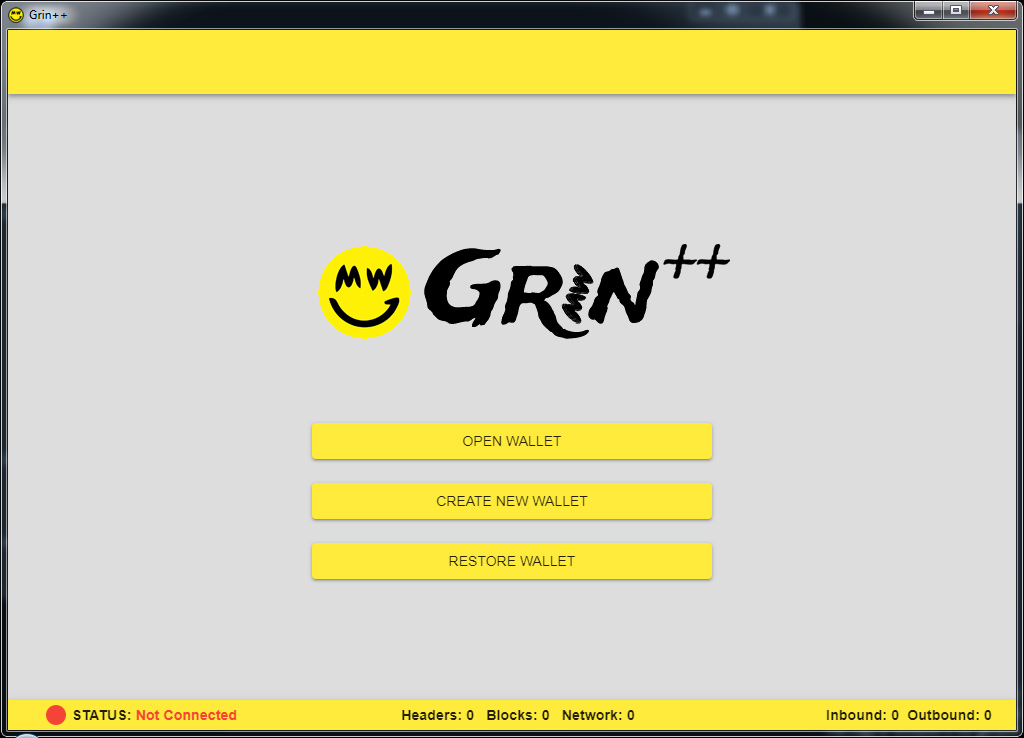 GrinPurse and GrinPlusPlus Open Source GRIN GUI Wallets for