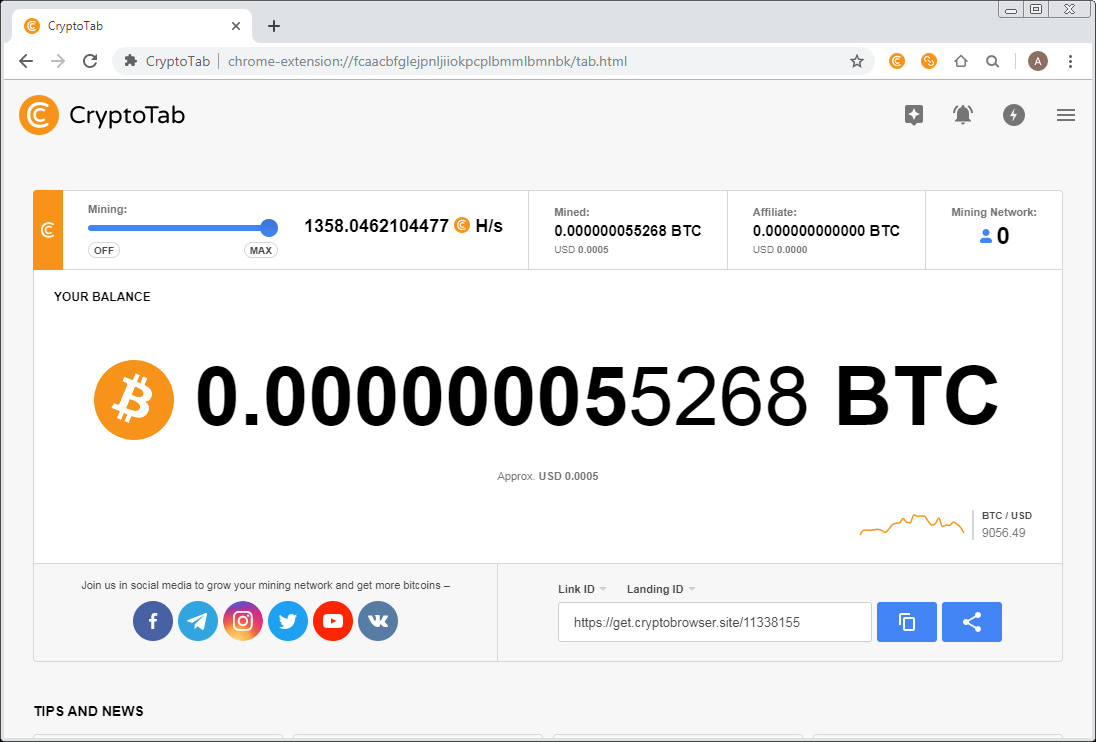 Cryptotab Browser For Easy Cpu Mining With Your Computer Crypto Mining Blog