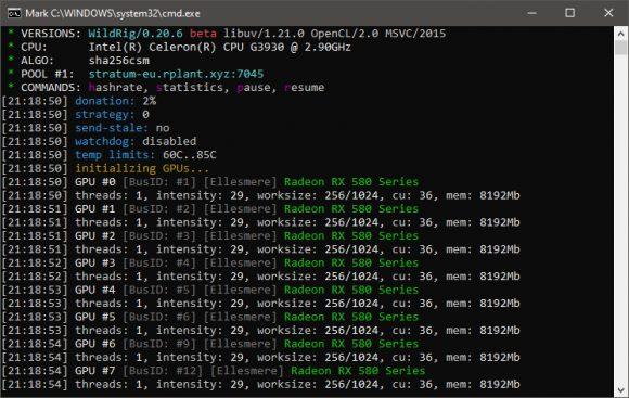 Xevan algorithm miner